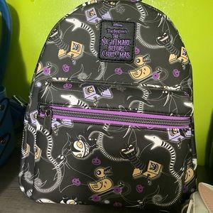 BNWT Nightmare Before Xmas mini backpack Loungefly
